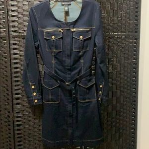 INC Brand Denim Dress size 6. length 37 inches